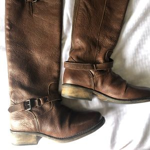 Steve Madden Leather Boot